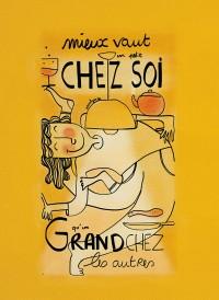 """Illustration originale : """"Un petit chez soi"""" by Annelyse avec un y"""
