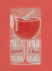 """Illustration """"Bain aux raisins"""" by Annelyse avec un y"""
