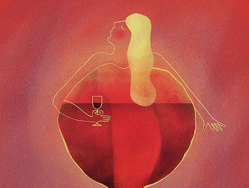 Créations autour du vin