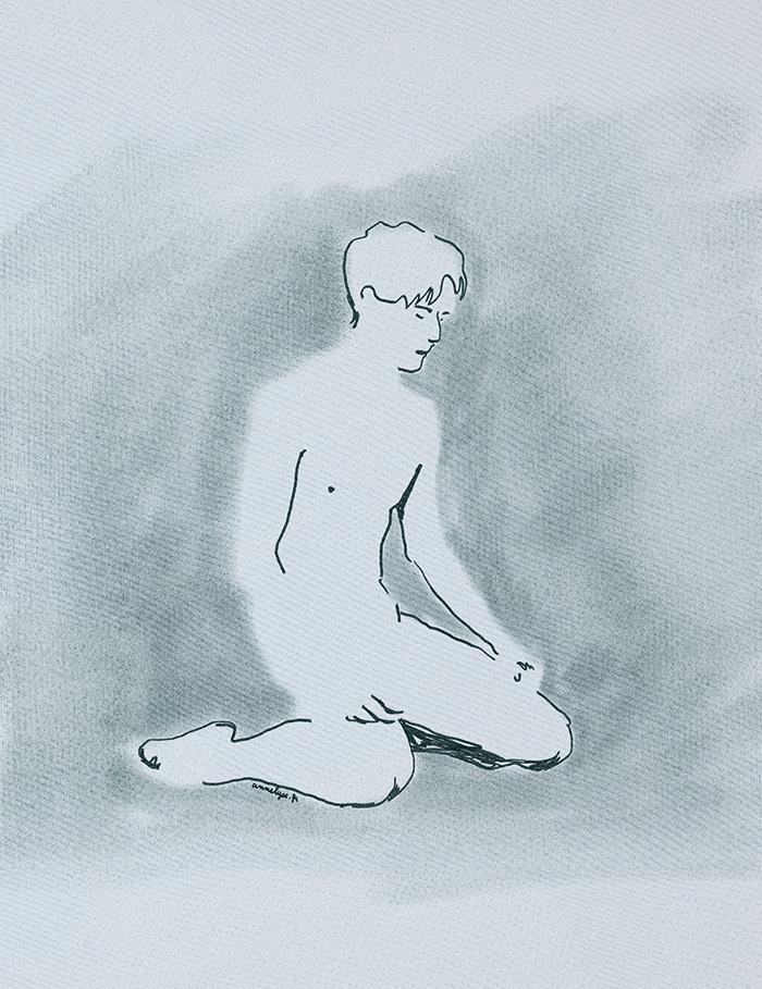 Croquis by Annelyse.fr de Sergei Polunin