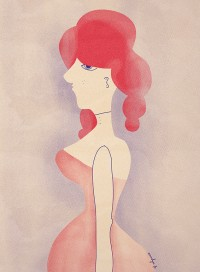 "Illustration ""Calamity Jane"" by annelyse.fr"