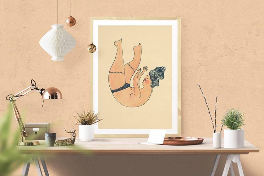 illustration by annelyse.fr