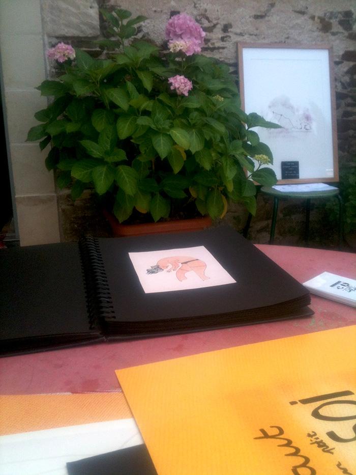 Annelyse.fr, Exposition La pointe de l'art à Bouchemaine le 20 juin 2015