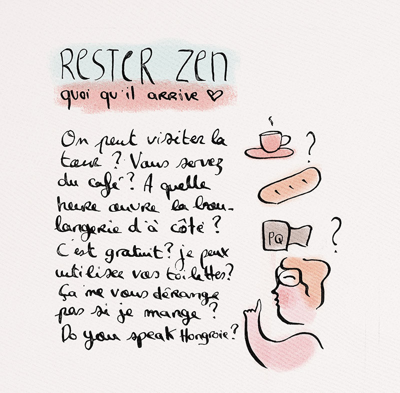 """ZEN"" illustration de annelyse.fr"