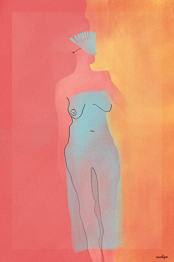 """Colombine"" illustration annelyse.fr"