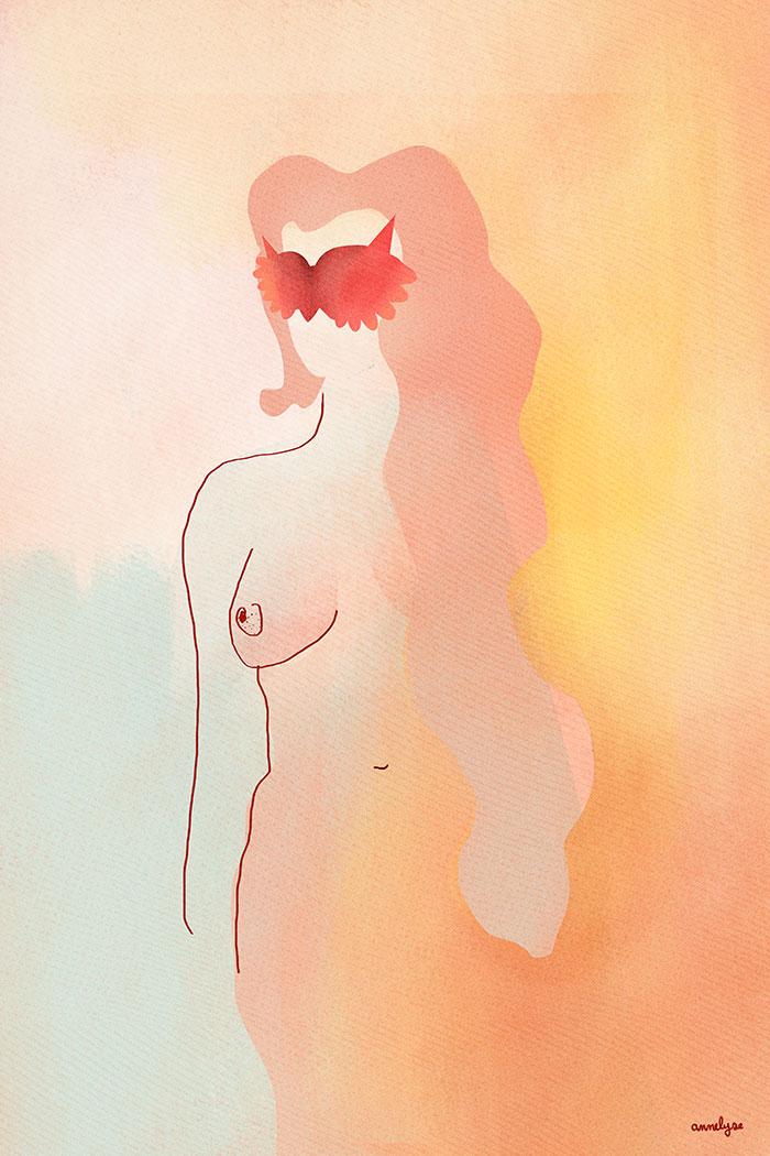 """Joséphine"" illustration annelyse.fr"