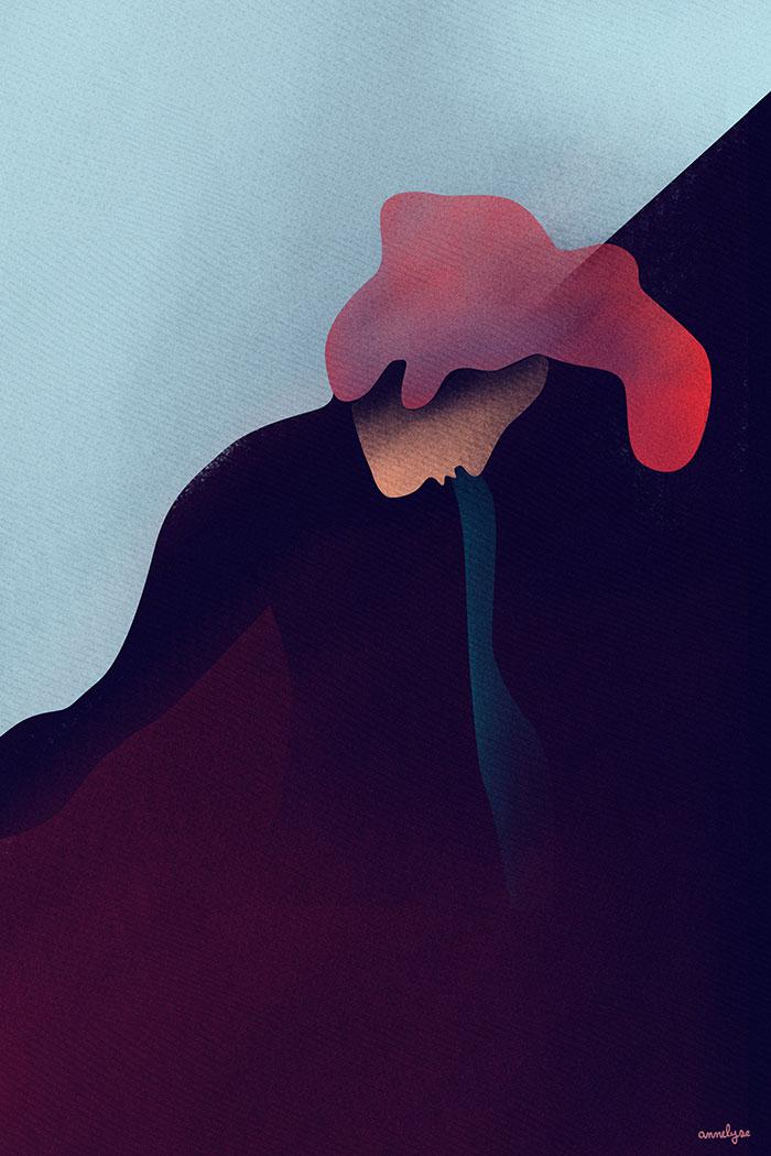 """""""Petit curieux"""" illustration annelyse.fr"""