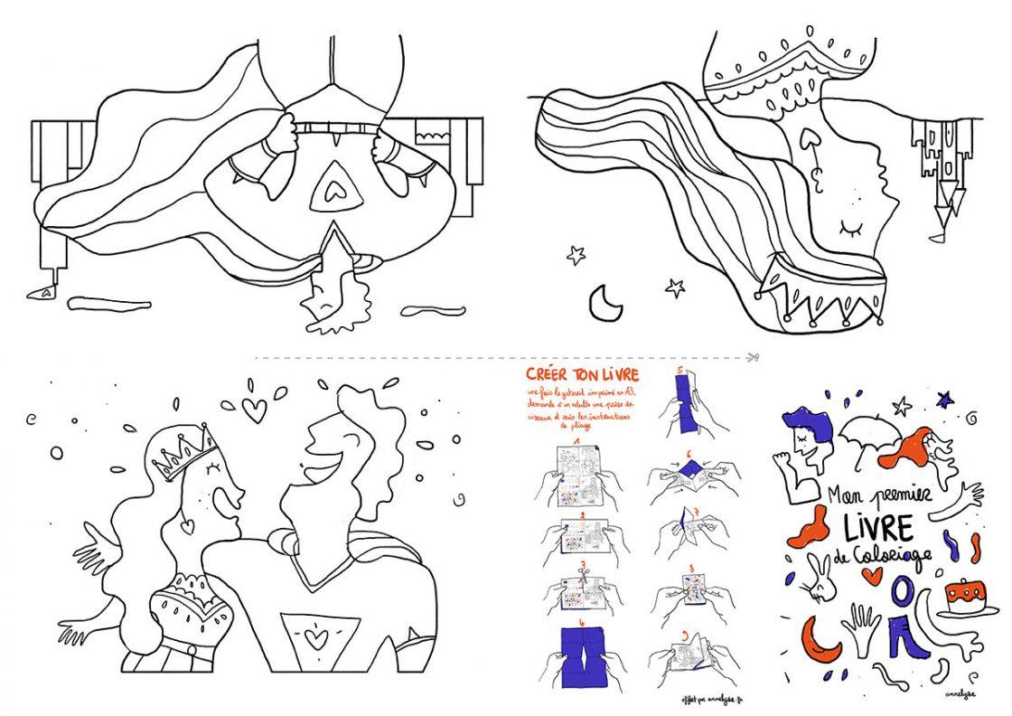 Petit livre de coloriage pour enfants by annelyse.fr